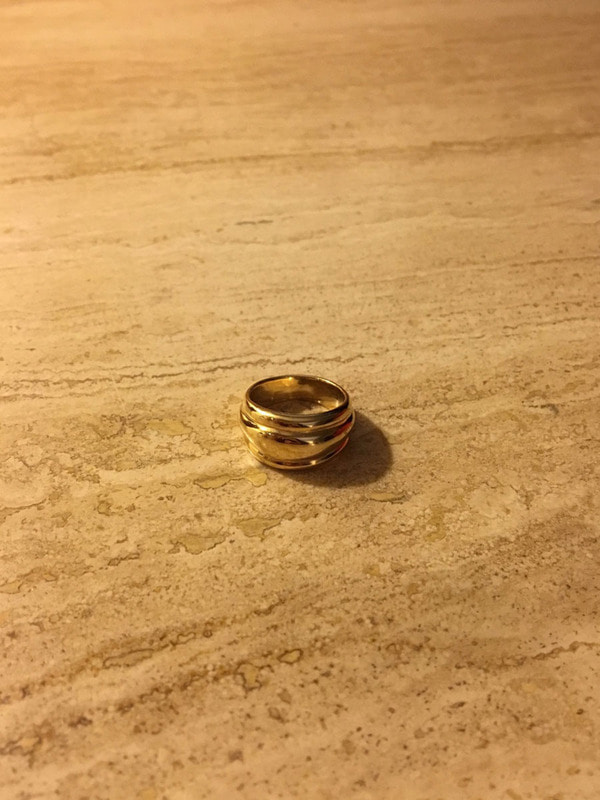 STACKED RING I, GOLD